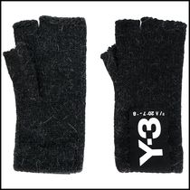 Y-3 Blended Fabrics Plain Gloves Gloves