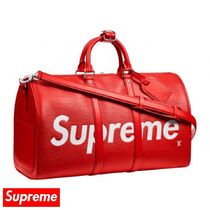 Supreme Street Style Collaboration Boston Bags