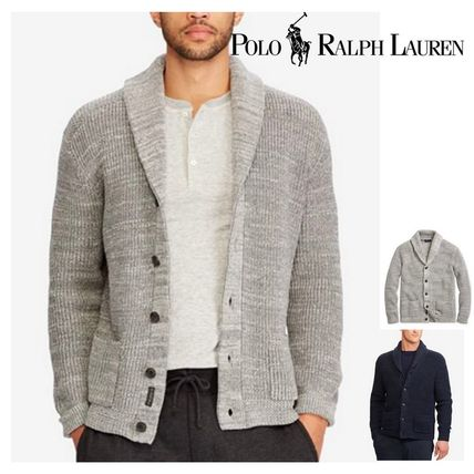 Cable Knit Plain Cotton Vests & Gillets