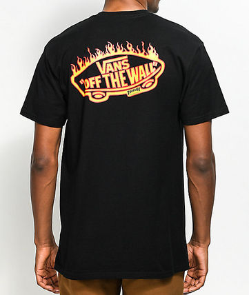VANS More T-Shirts Street Style Collaboration T-Shirts 2