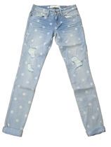 Marc by Marc Jacobs Dots Casual Style Denim Skinny Jeans
