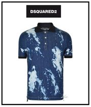 D SQUARED2 Cotton Short Sleeves Polos