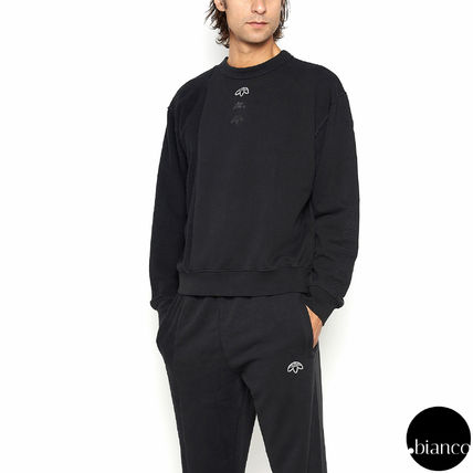 Alexander Wang Crew Neck Pullovers Sweat Street Style Collaboration