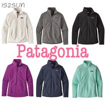 Patagonia Casual Style Blended Fabrics Long Sleeves Plain Medium