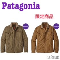 Patagonia Casual Style Street Style Plain Medium Coats