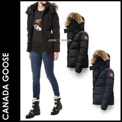 CANADA GOOSE CHELSEA PARKA Casual Style Plain Down Jackets
