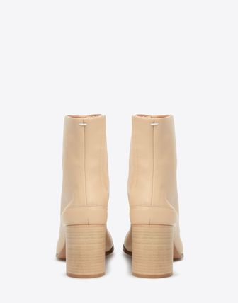 Maison Martin Margiela Ankle & Booties Plain Leather Block Heels Ankle & Booties Boots 4