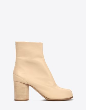 Maison Martin Margiela Ankle & Booties Plain Leather Block Heels Ankle & Booties Boots 2