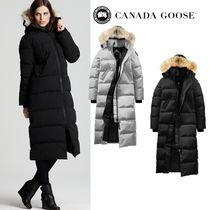CANADA GOOSE MYSTIQUE Plain Long Down Jackets
