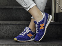 New Balance 996 Casual Style Unisex Suede Low-Top Sneakers