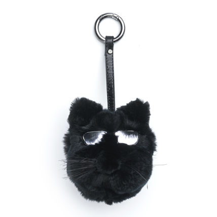 Unisex Fur Card Holders