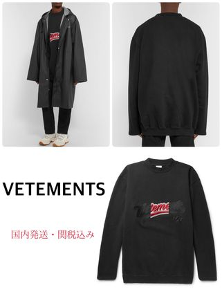 VETEMENTS Street Style Hoodies