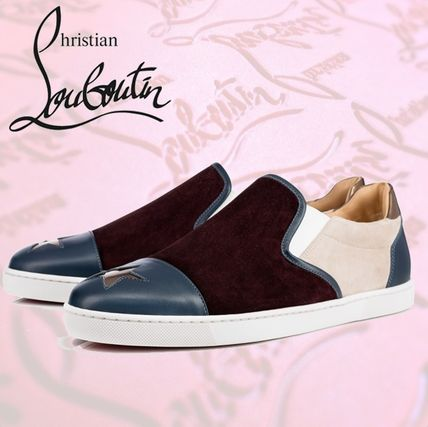 Christian Louboutin Star Leather Loafers & Slip-ons