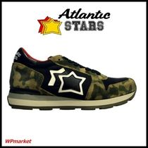 Atlantic STARS Star Camouflage Street Style Low-Top Sneakers