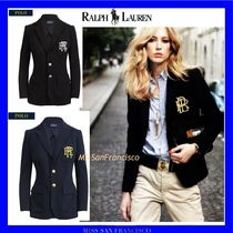 Ralph Lauren Plain Medium Elegant Style Jackets