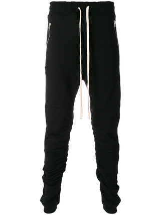 Street Style Cotton Joggers & Sweatpants