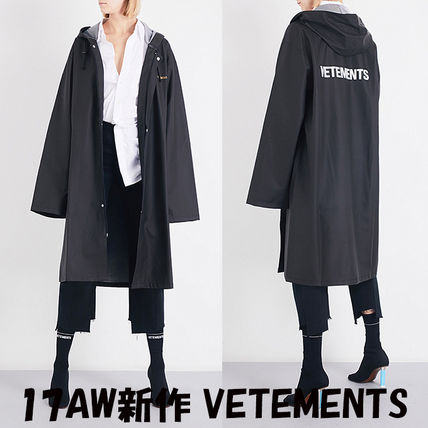 VETEMENTS Casual Style Street Style Long Coats