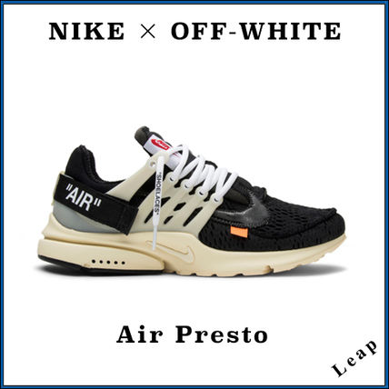 Nike Sneakers Street Style Collaboration Plain Sneakers