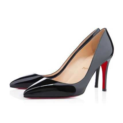 Christian Louboutin Plain Pointed Toe Pumps & Mules
