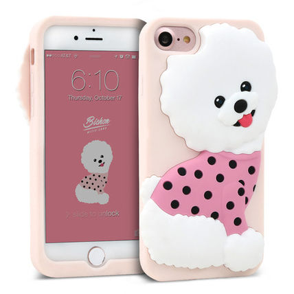 Street Style Plain Silicon Smart Phone Cases