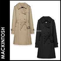 MACKINTOSH Plain Medium Office Style Trench Coats