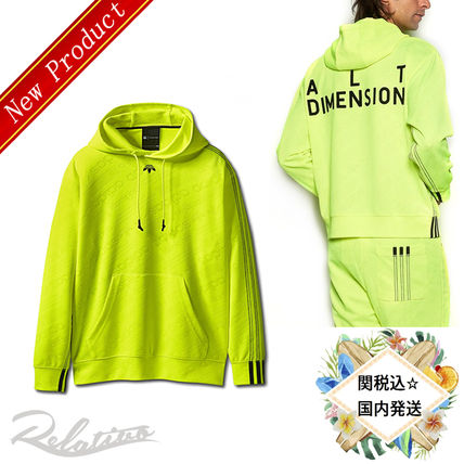 Pullovers Stripes Monogram Unisex Collaboration Long Sleeves