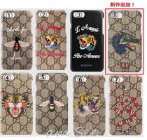 GUCCI Unisex Other Animal Patterns Smart Phone Cases