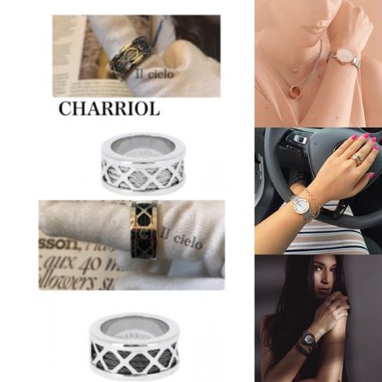 【CHARRIOL 】 stainless steel cable Ring Forever*