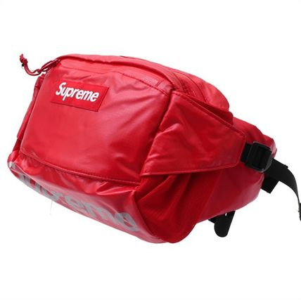 Supreme Unisex Nylon Collaboration 2WAY Plain Hip Packs