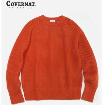 COVERNAT Knits & Sweaters Long Sleeves Oversized Knits & Sweaters 3