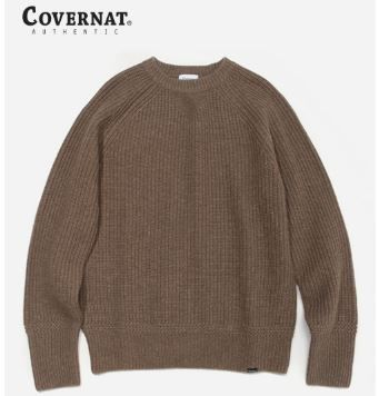COVERNAT Knits & Sweaters Long Sleeves Oversized Knits & Sweaters 16