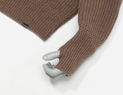 COVERNAT Knits & Sweaters Long Sleeves Oversized Knits & Sweaters 17
