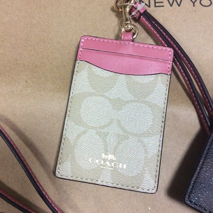 ... Coach Card Holders Flower Patterns Blended Fabrics PVC Clothing Card  Holders 3 ... a7bb7eda409