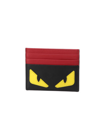 FENDI Card Holders Calfskin Card Holders