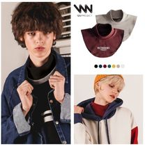 WV PROJECT Casual Style Unisex Plain Cotton Detachable Collars