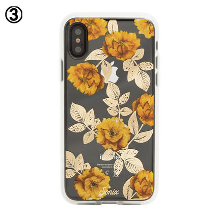 sonix 2017 18aw heart flower patterns smart phone cases by
