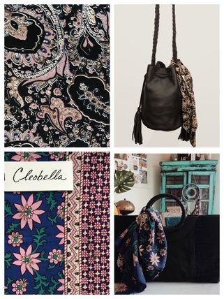 Flower Patterns Paisley Casual Style Handmade