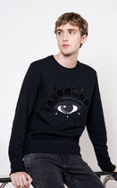 KENZO Long Sleeves Cotton Sweatshirts