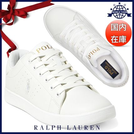 Round Toe Rubber Sole Lace-up Casual Style Unisex Faux Fur