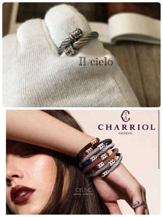 【CHARRIOL】stainless steel cable acier ring*