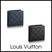 Louis Vuitton DAMIER INFINI Other Check Patterns Monogram Street Style Leather