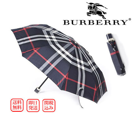 Burberry Other Check Patterns Unisex Umbrellas & Rain Goods