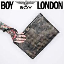 BOY LONDON Camouflage Street Style Clutches