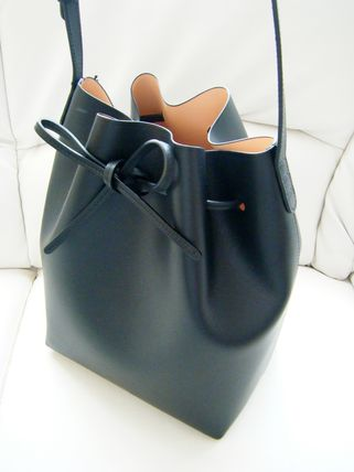 MANSUR GAVRIEL Bi-color Leather Purses Shoulder Bags