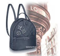 Louis Vuitton MONOGRAM EMPREINTE Monoglam Leather Backpacks
