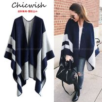 Chicwish Wool Long Ponchos & Capes
