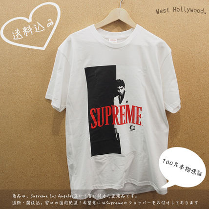 Supreme Street Style Collaboration T-Shirts