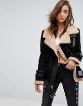 ASOS Casual Style Suede Plain Long Jackets