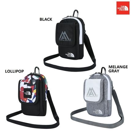 THE NORTH FACE Argile Nylon Street Style 2WAY Plain Hip Packs