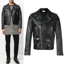Saint Laurent 17-18 AW SL CLASSIC MOTORCYCLE JACKET IN VITAGE CALF